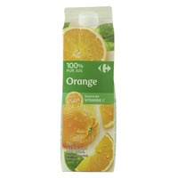 Carrefour Pure Orange Juice With Pulp 1L