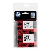 HP 652 Ink Advantage Cartridge - Black + Ink Advantage Cartidge - Tri Color