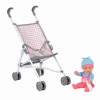 Aimantine My Baby Doll With Stroller 28cm