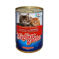 Miglior Gatto Cat Food With Beef 405GR
