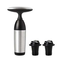 OXO Stainless Steel Leakproof Expanding Wine Stoppers 2 Pack
