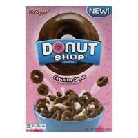 Kellogg's Donut Shop Cereal Chocolate Donut 283g