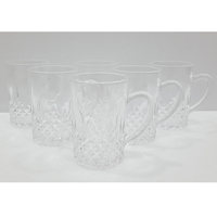 Glass Tea Mug 6Pcs Set 10.5Cl
