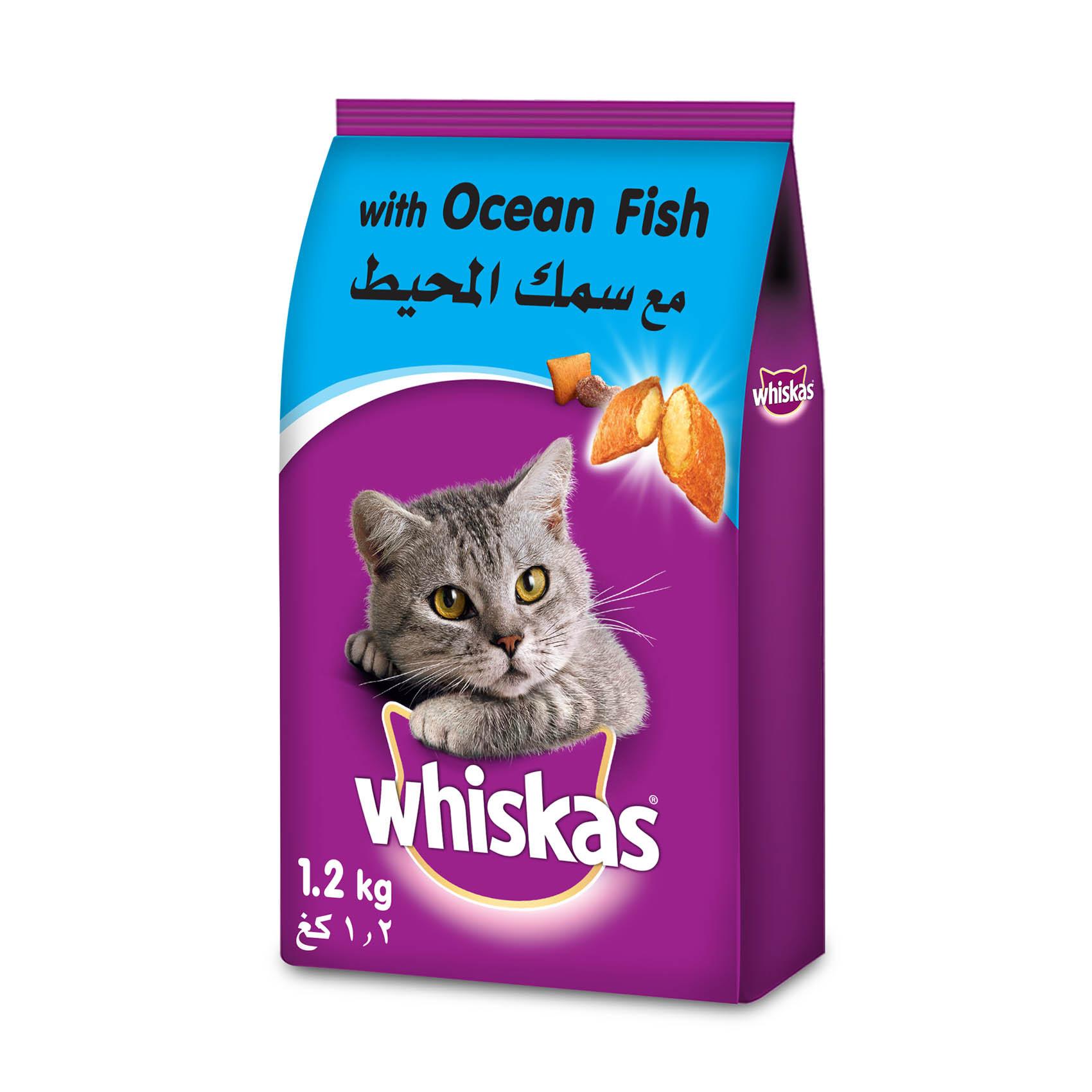 WHISKAS OCEAN FISH 1.1KG
