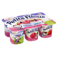 Yoplait Petits Filous Assorted 60gx6