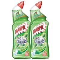 Harpic Fresh Pine Toilet Cleaner 750mlX2