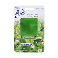 Glade Sensation Car Air Freshener Morning Freshness 8GR