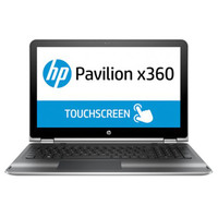 "HP 2 in 1 Pavilion 15-BK000 i3-6100 4GB RAM 500GB Hard Disk 15.6"""" Silver"