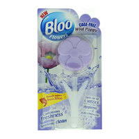 Bloo Flower Cage-Free Wild Poppy Toilet Freshener 34G