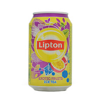 Lipton Exotic Fruits Ice Tea Drink Can 320ML