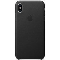 Apple Case iPhone XS MAX Leather Black