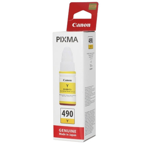 Canon-Ink-Bottle-GI-490-Yellow