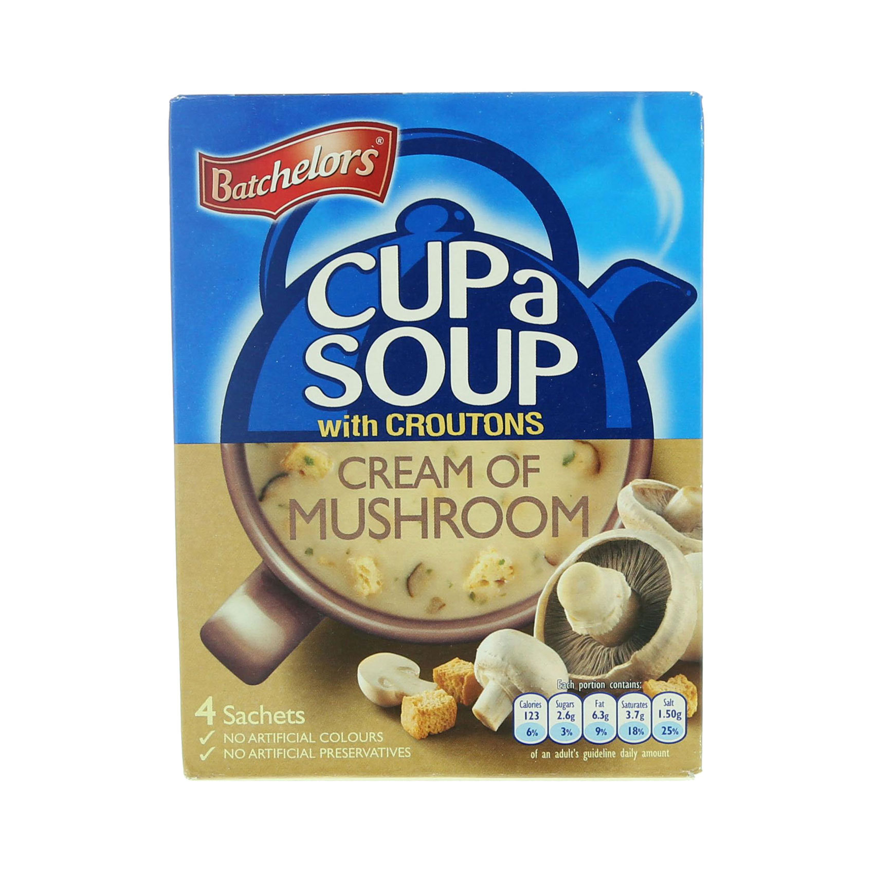 BATCHELOR'S CAS CREAM/MUSHROOM.99G