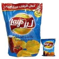 ليز شيبس بطاطا بنكهة الكاتشب الطماطم 17 غرام 20 حبة
