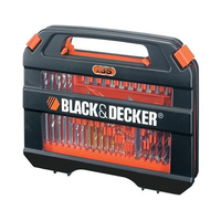 Black & Decker Family Accessory Case Set Of Mixed Drill & Screwdriver 35 Pieces