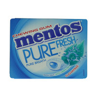 Mentos Pure Fresh Mint with Green Tea Chewing Gum 15g