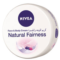 Nivea Natural Fairness Face And Body Cream 200ml