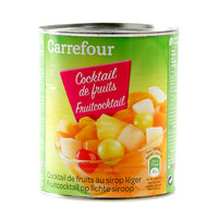 Carrefour Fruit Cocktail in Light Syrup 800g