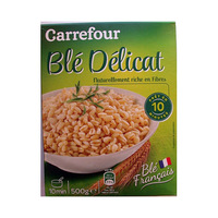 Carrefour Whole Wheat hard Precooked 500g