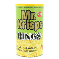 Mr. Krisps Rings Jalapeno Flavor Potato Crunches 65g
