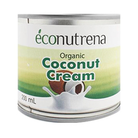 Econuterna Organic Coconut Cream 200ML