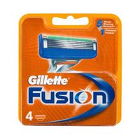 Gillette Fusion Manual Shaving Blades Refill Pack Of 4