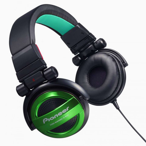 Pioneer-Headphone-SE-MJ-551-G-Green
