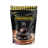 Chocodate Almond 85% Extra Dark 250g