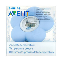 Philips Avent Bath And Room Thermometer Blue Color