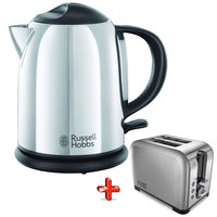 Russell Hobbs Kettle Cordless 20190+Toaster 22390