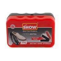 Show Double shine Shoe Polish 2IN1 Neutral Black