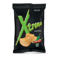 Xtreme Potato Chips Hot Flavor 185g