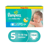 Pampers Mega Box 11-18 KG 104 Diapers
