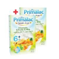 BUY 1 + 1 FREE Primalac Cereals - 5 Cereals, 5 Fruits & Milk 250g
