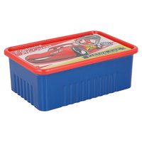 Cars Rectangle Can Sanwich Box 4915