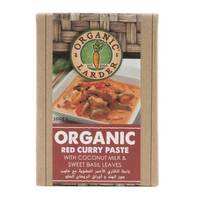 Organic Larder Organic Red Curry Paste 100g