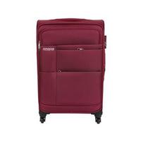 Kamiliant Soft Cayman Spinner Luggage Trolley Bag 58CM Maroon