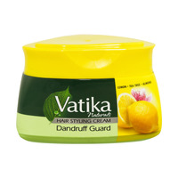 Vatika Naturals Hair Styling Cream Dandruff Guard Lemon, Tea Tree, Almond 140ml