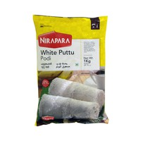 Nirapara White Puttu Podi Rice Powder 1Kg