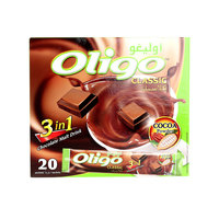 Power Root Oligo Chocolate Malt Drink 3 In 1 26gx20