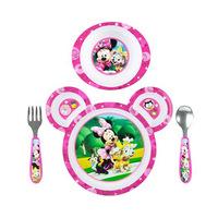 Disney Minnie Mouse Feeding Set Of 4 Pieces