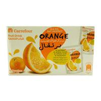 Carrefour Orange Fruit Drink 200ml x10