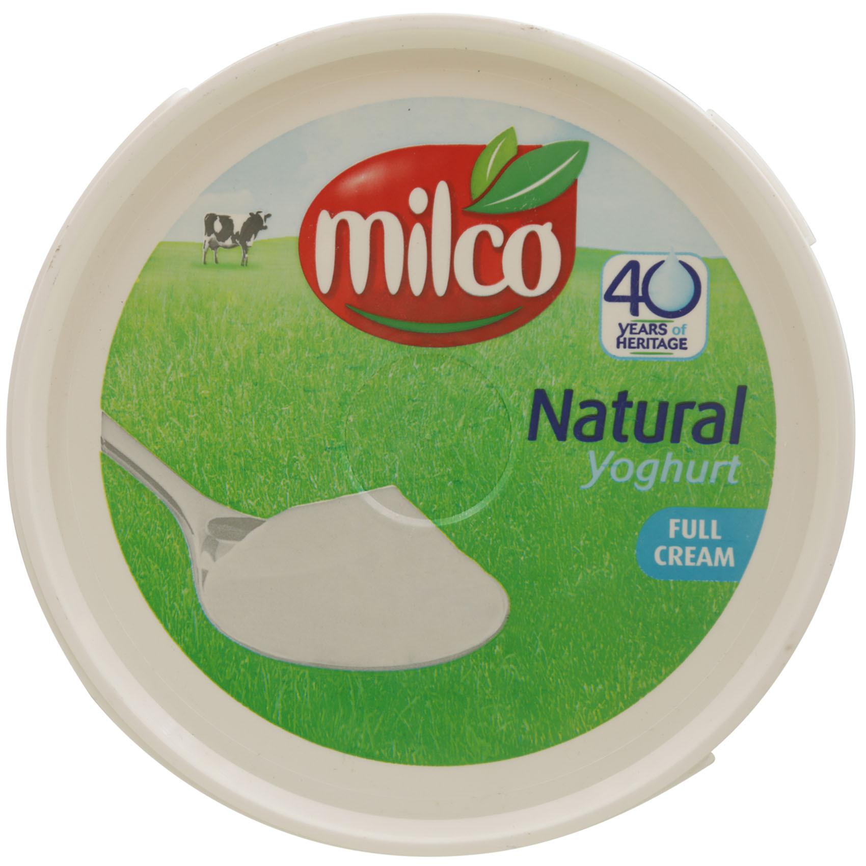 MILCO YOG PLAIN FF 1 80 KG