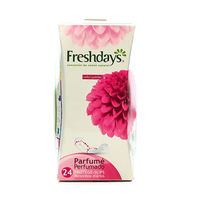 Freshdays Ladies Pads Normal Scented 24 Napkins