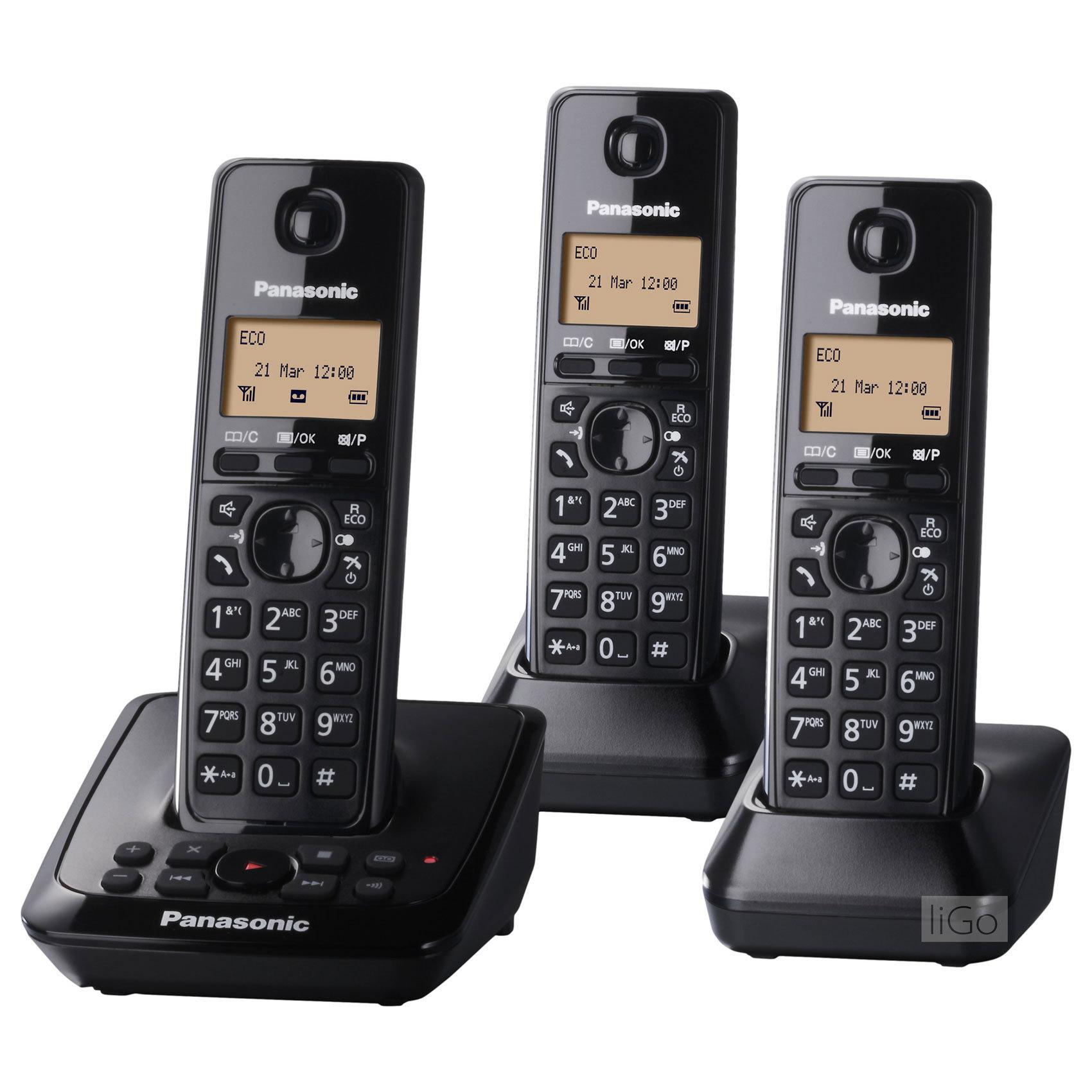 PANASONIC KX-TG2713UEB DECT PHON BK