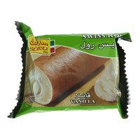Sara Cake Swiss Roll Vanilla Cake 75g