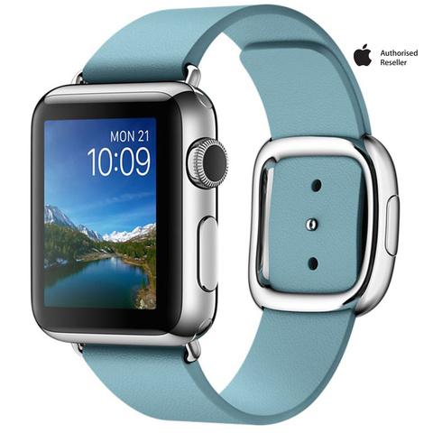 Apple-Watch-Series-1-38mm-Aluminium-Case-Blue-Band-Medium