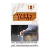 Wills Navy Cut Cigarettes Gold 20's