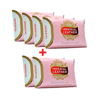 Imperial Leather Cussons Soap Elegance 125GR 4+2 Free