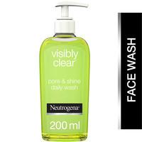 Neutrogena Facial Wash Visibly Clear Pore & Shine 200ml